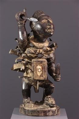 Figure Nkisi Nkondi Kongo