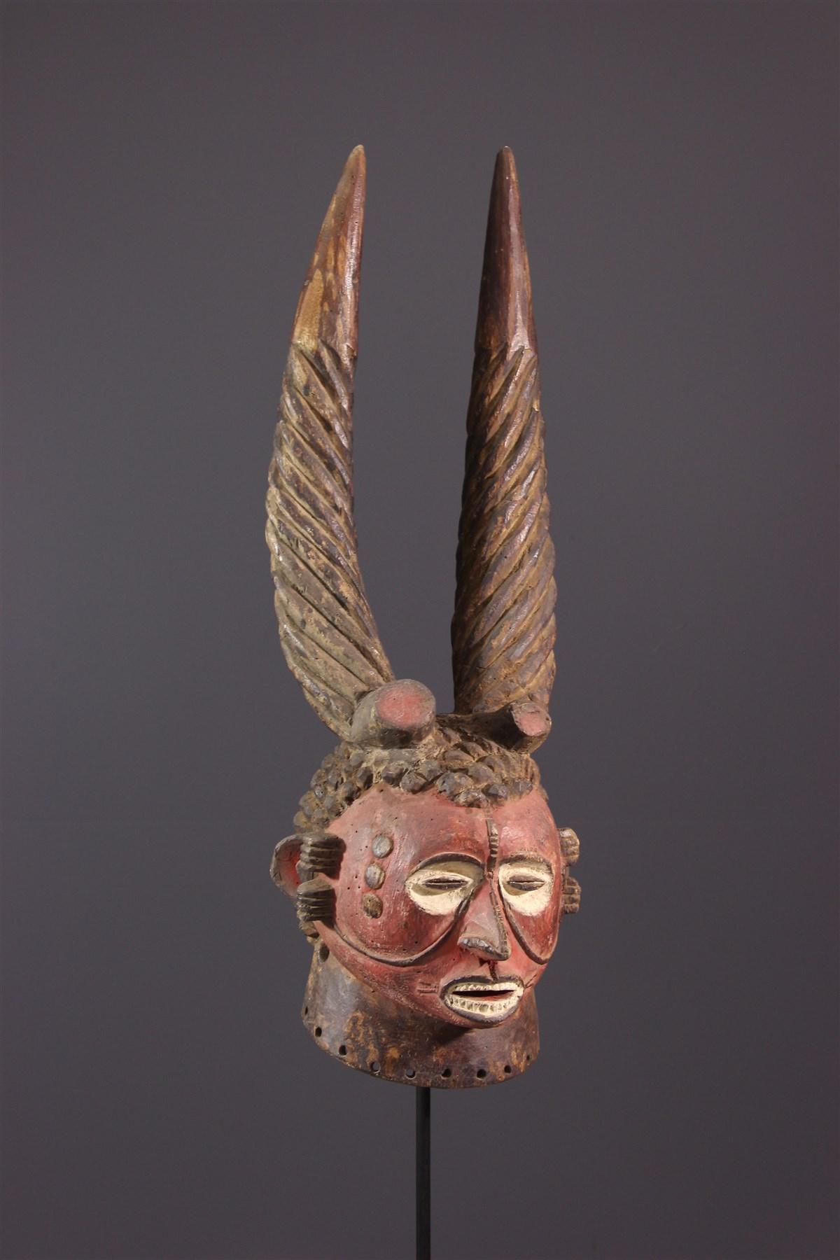 Masque cimier Igbo - Art africain