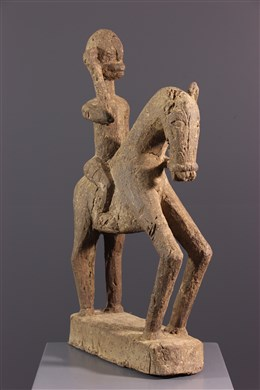 Figure équestre Hogon Dogon Cavalier Dogon