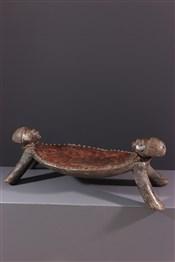 Tabourets, chaises, trônesTabouret de dignitaire Chokwe