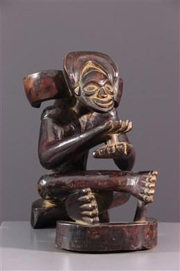 Figure d ancêtre Chokwe