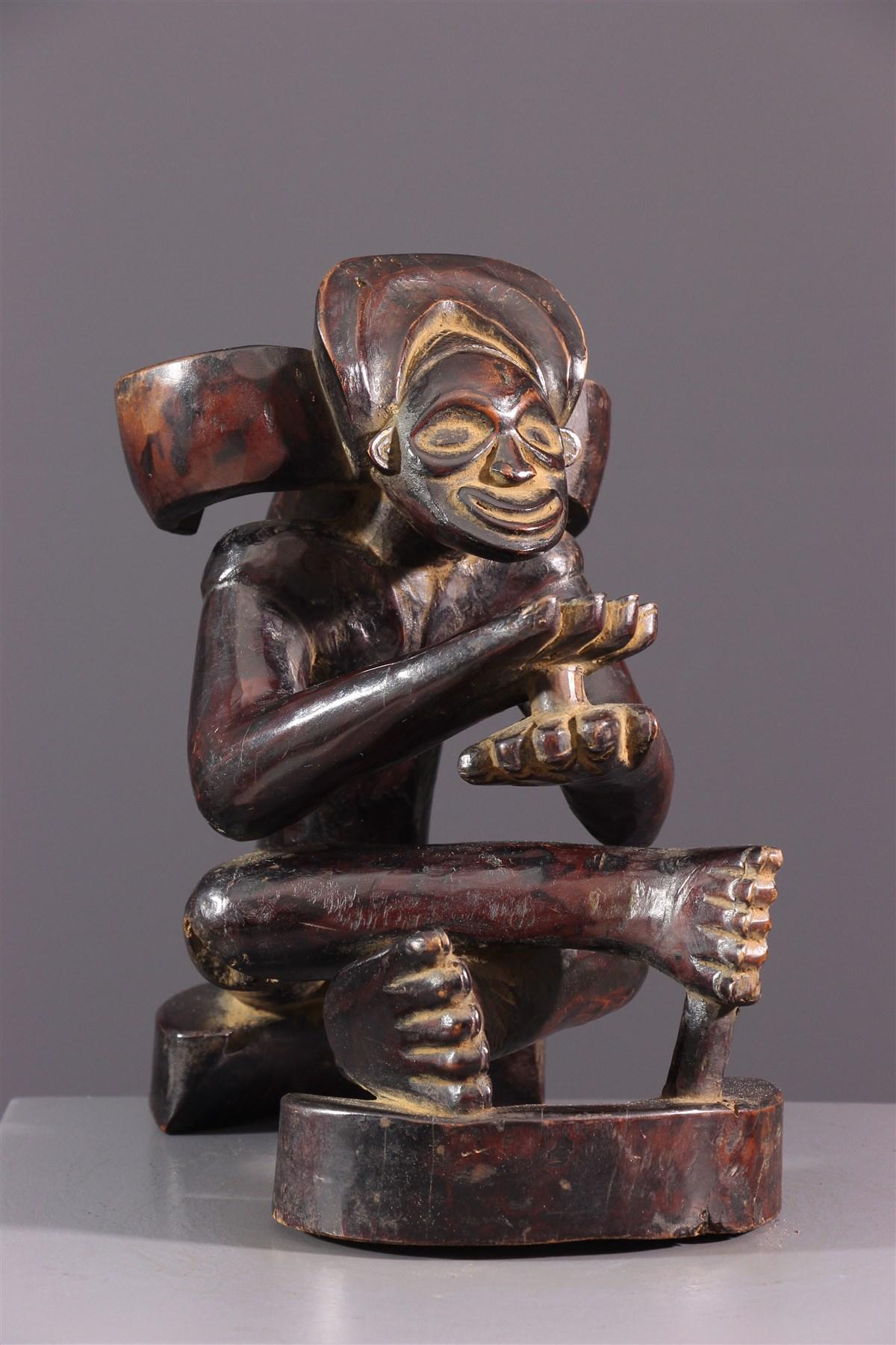 Figure d'ancêtre Chokwe - Art africain