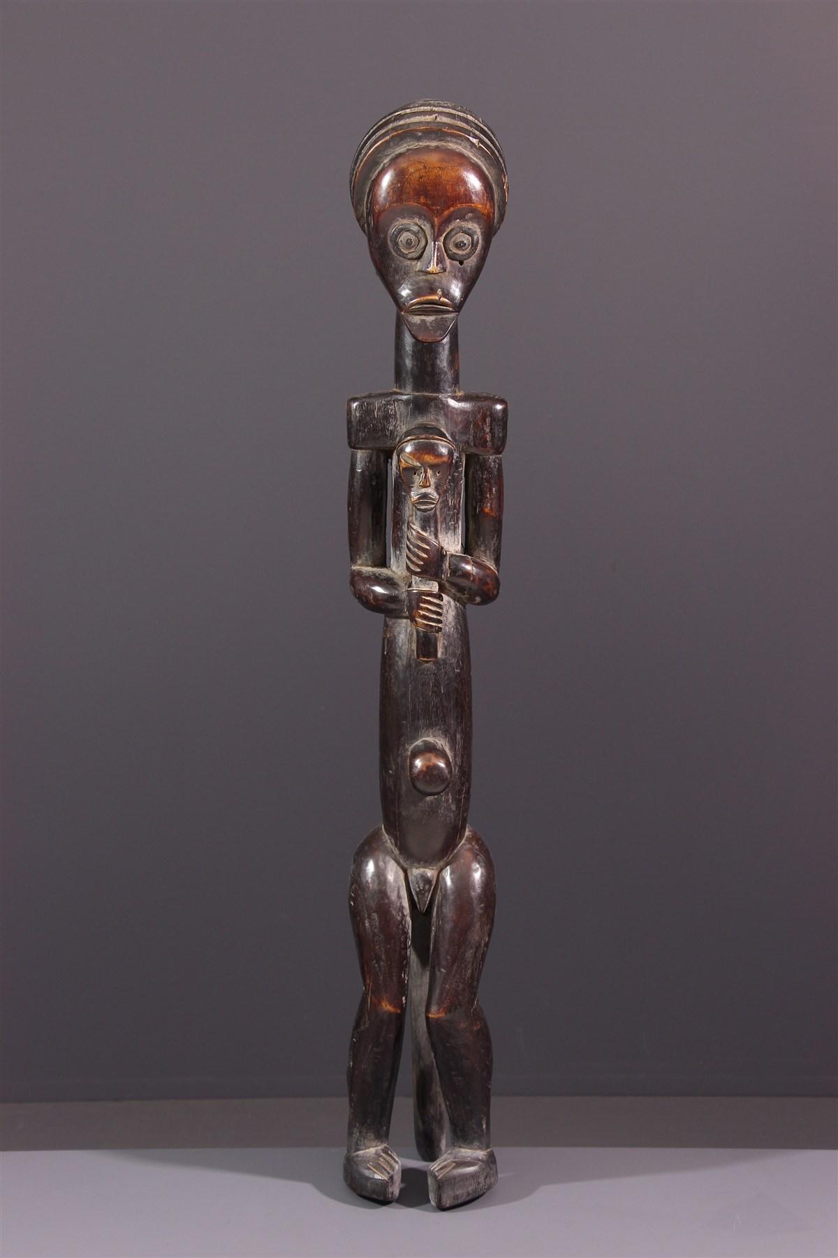 Figure de reliquaire Fang Byeri - Art africain