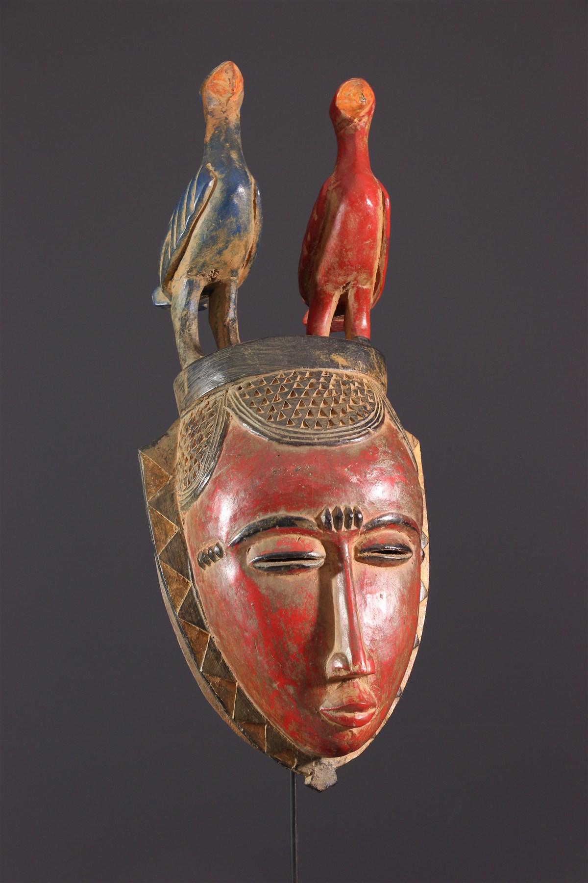 Masque Lomane Yohouré - art africain
