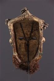 Masque africainMasque Ngady Amwaash Kuba