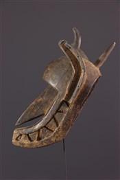 Masque africainMasque Bambara Surukuw hyène