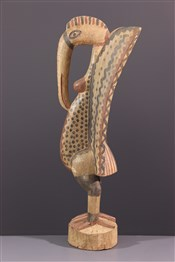 Statues africainesStatue Setien Calao Senoufo