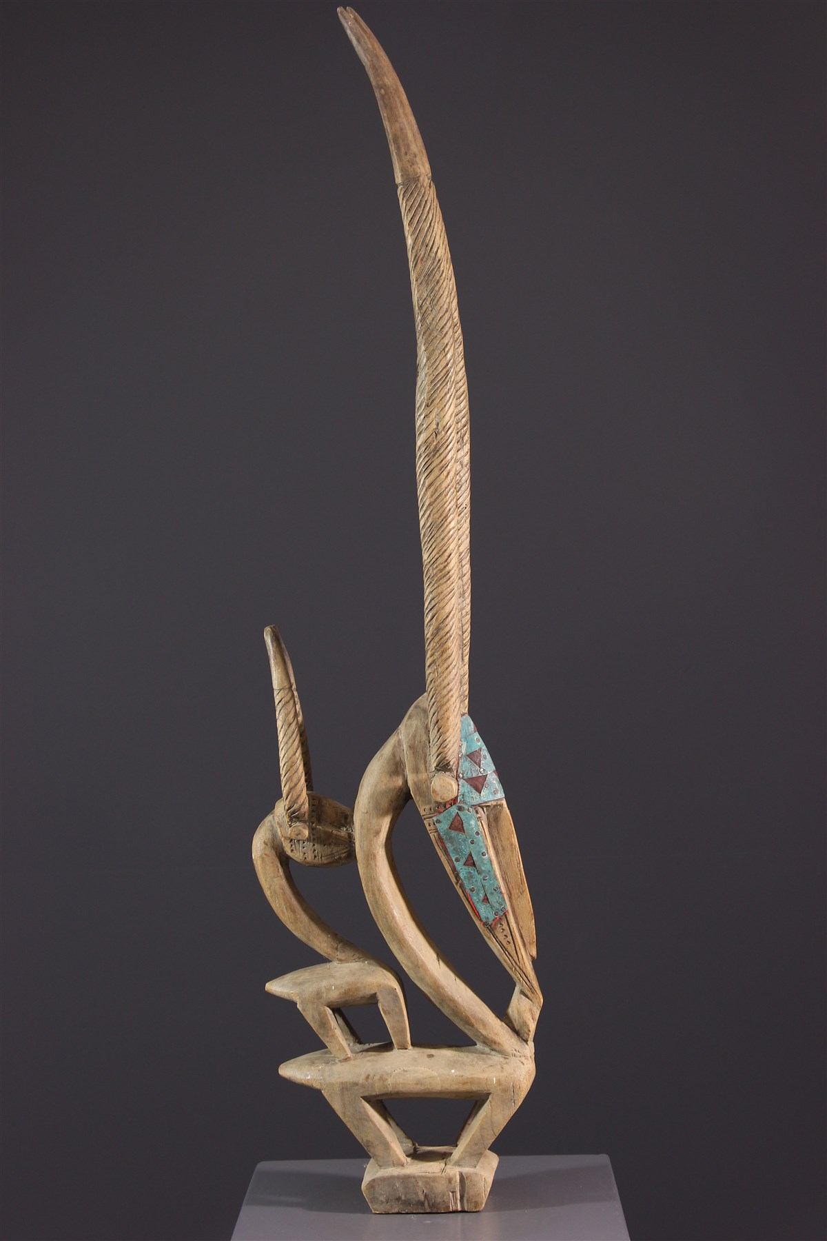 Masque cimier Ci Wara - Art africain