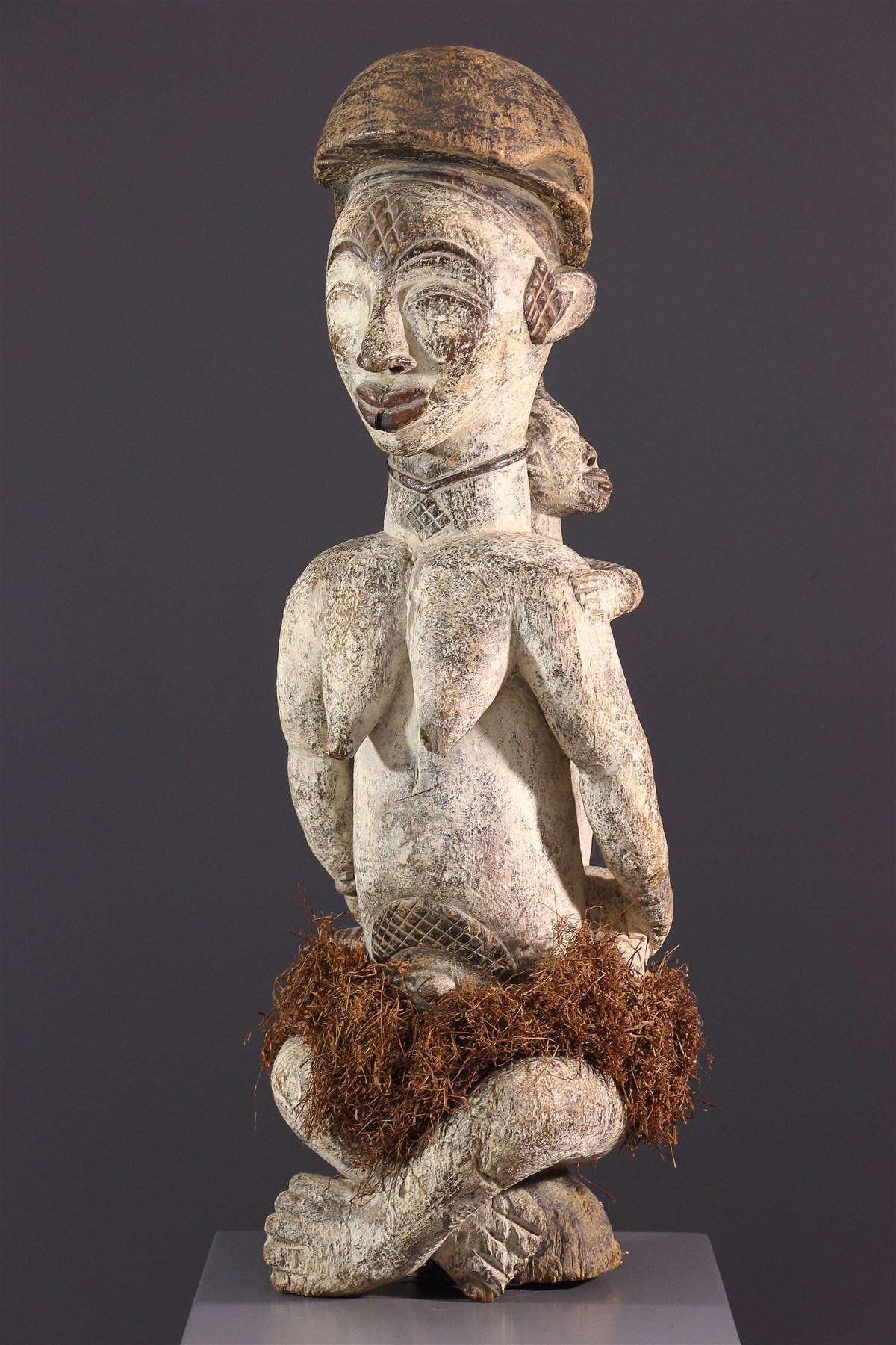 Maternité Punu Lumbu - art primitif