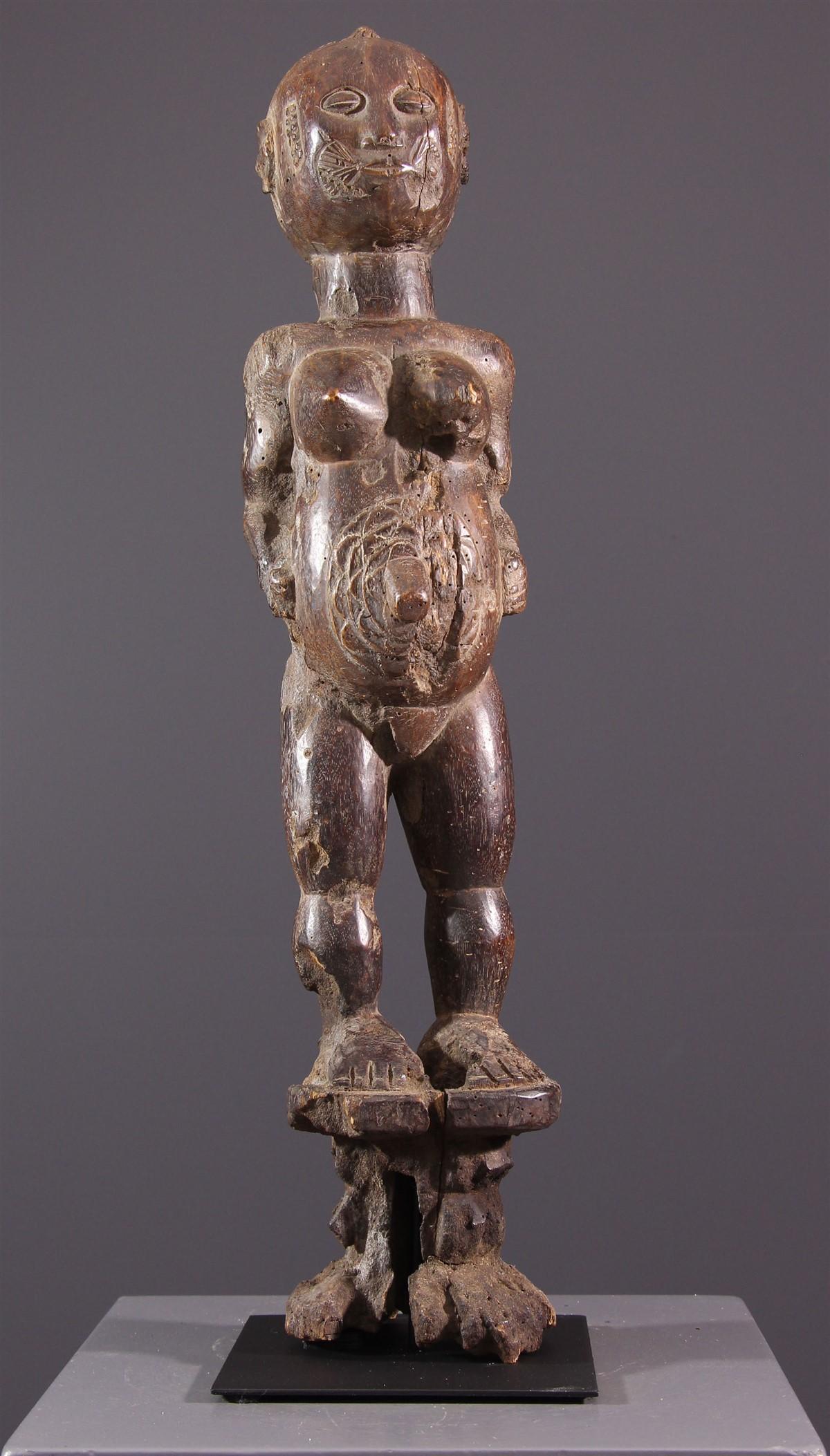 Figure féminine Goemai - art africain