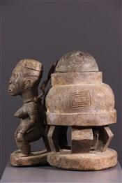 Objets usuelsBoite à oracle Kongo Yombé
