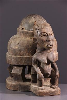 Boite à oracle Kongo Yombé