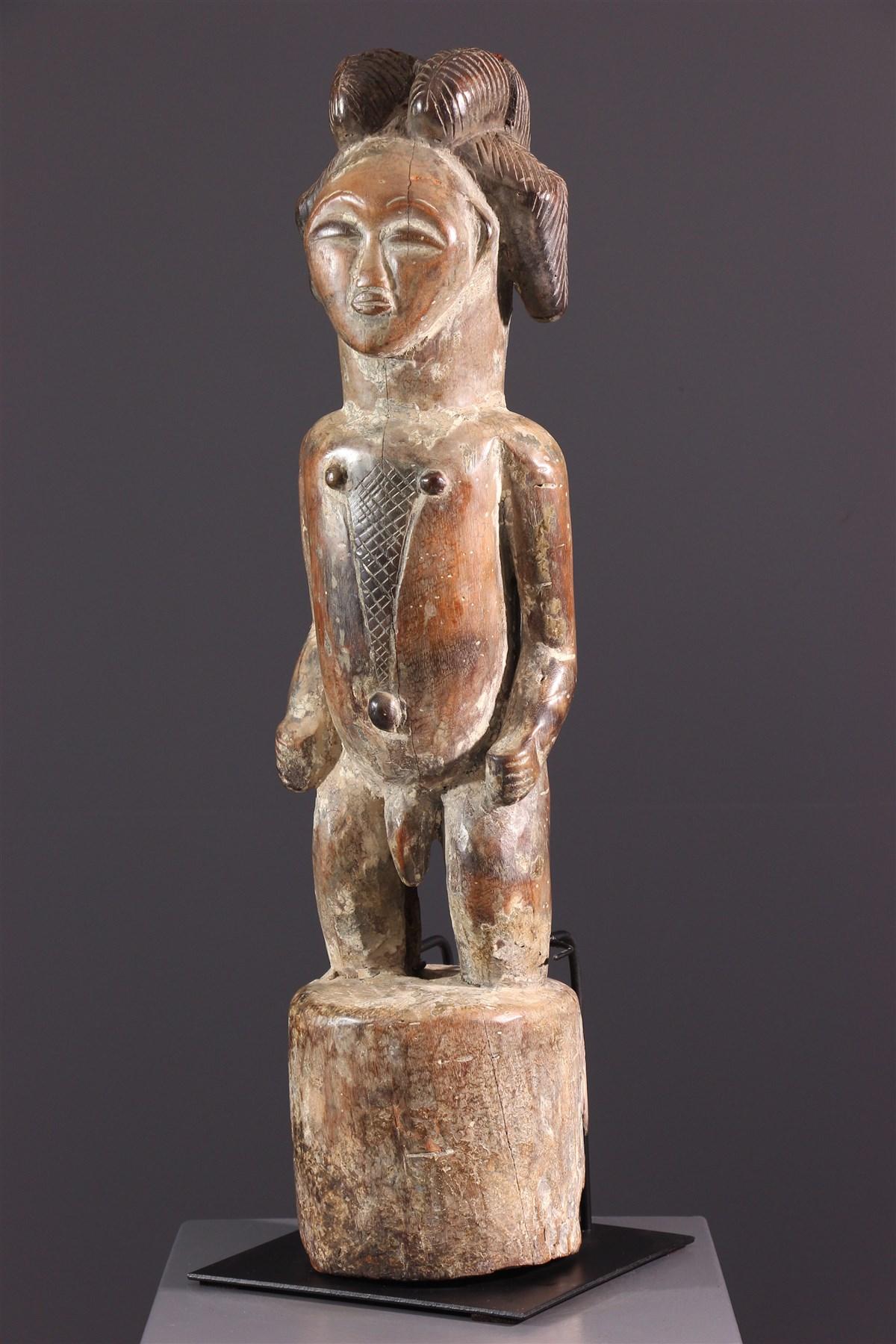 Figure tutélaire Punu - Art africain