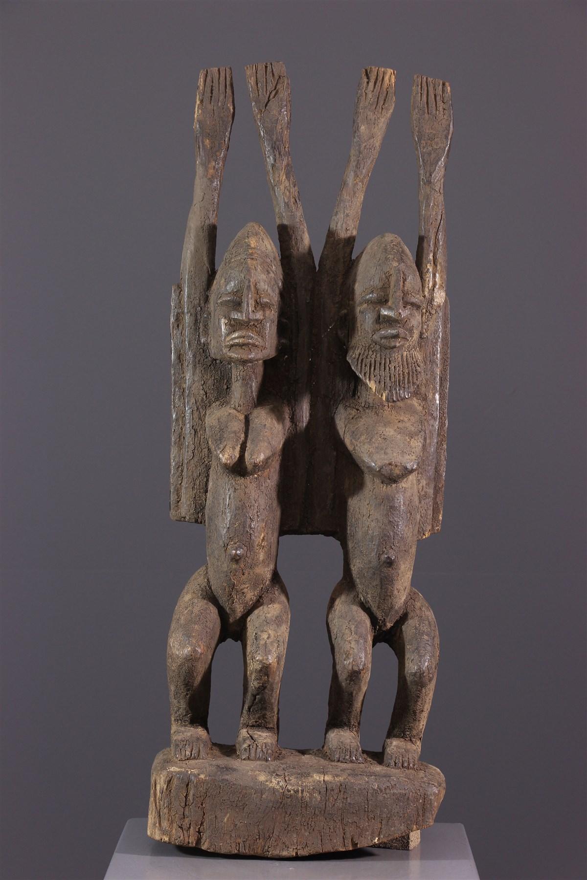 Couple Tellem - Art africain