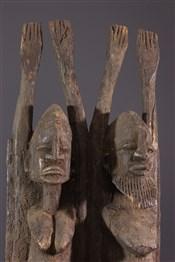 Statues africainesCouple Tellem