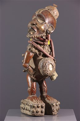 Statue Nkisi Nkondi Kongo