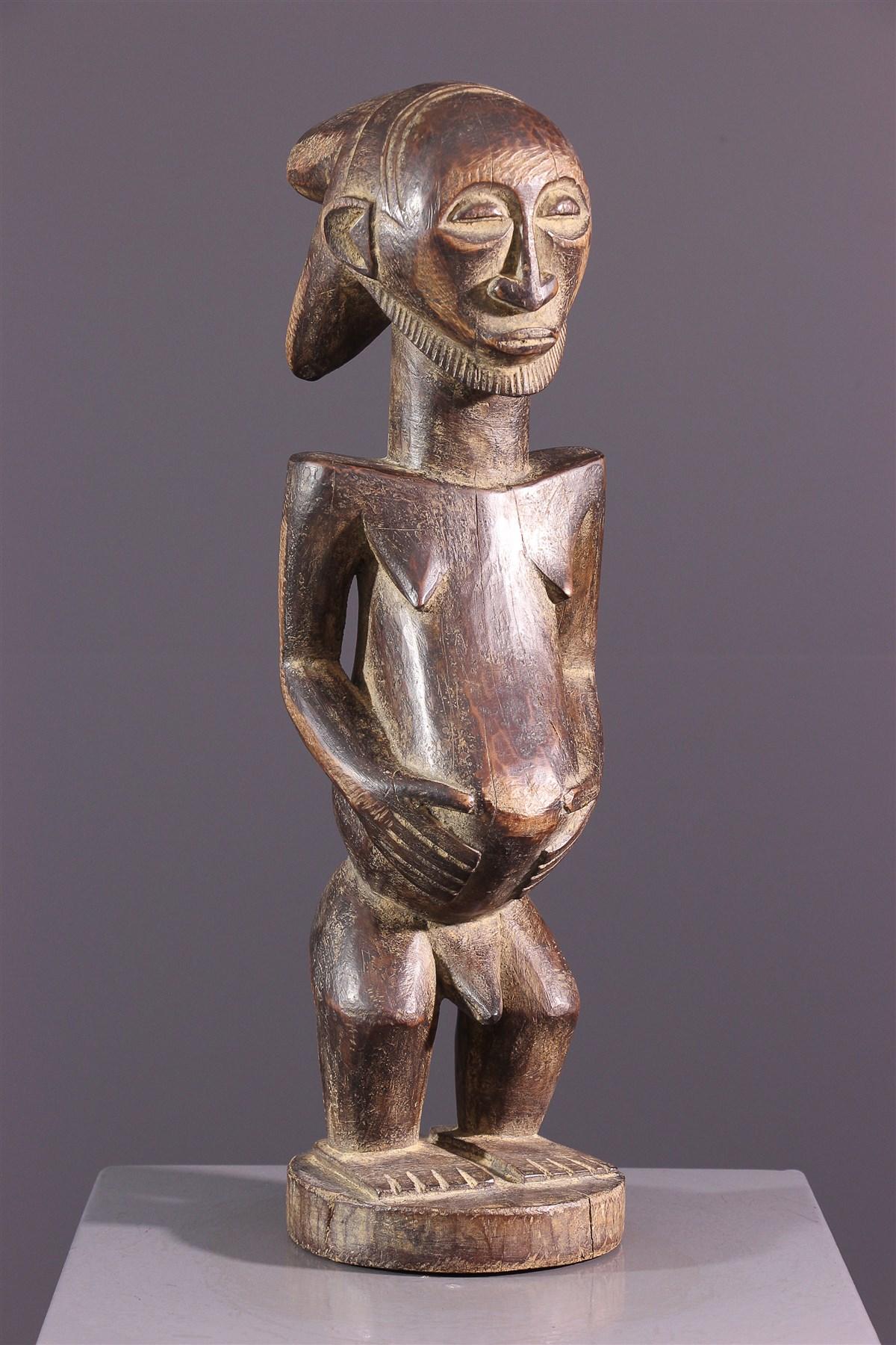 Statue d'ancêtre Hemba Luba - art africain