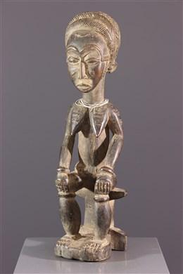 Statue Asiè Usu Baoulé