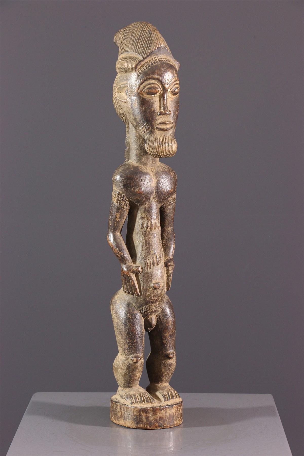 Statuette Blolo Bian Baoulé - art primitif