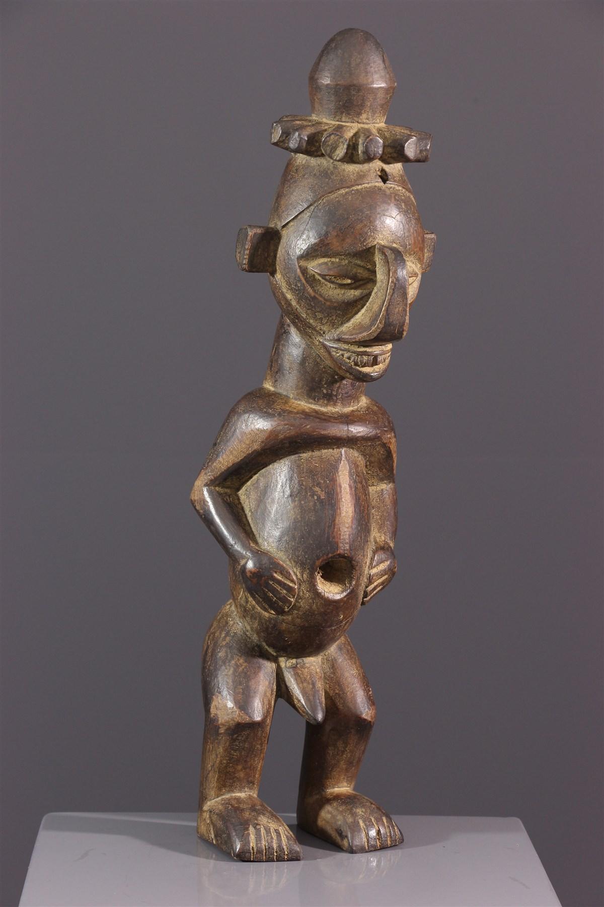 Statuette Yiteke Yaka - art africain