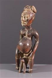 Statues africainesStatuette de fertilité Bangwa