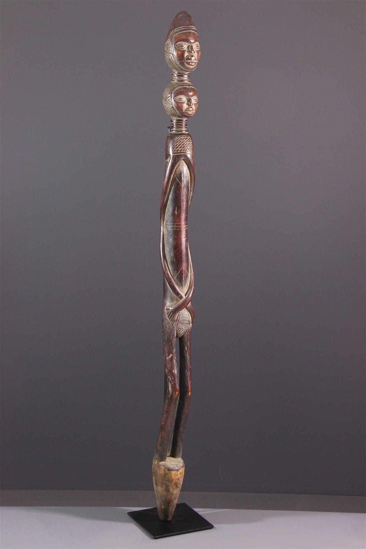 Bâton rituel Béembé, Babembé - art africain