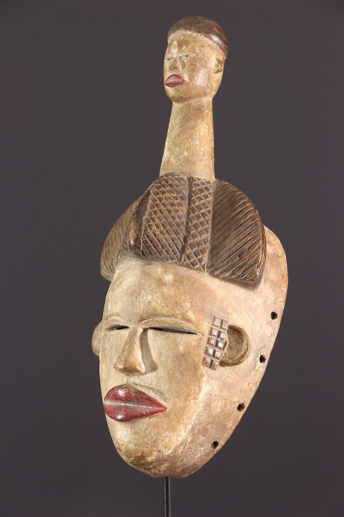 Masque facial Ogoni - Art africain