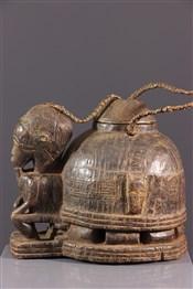 Objets usuelsBoîte à oracle à souris Gbékré sé Baoulé