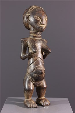 Figure féminine Luba