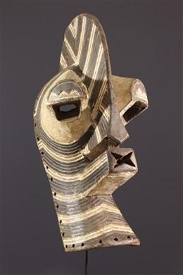 Masque Kifwebe Songye Kilume