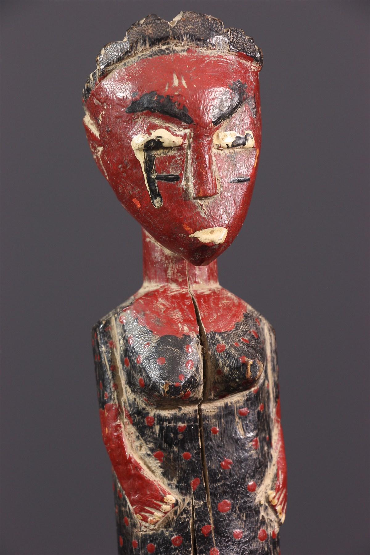 Statuette Blolo bian Baoulé - art africain