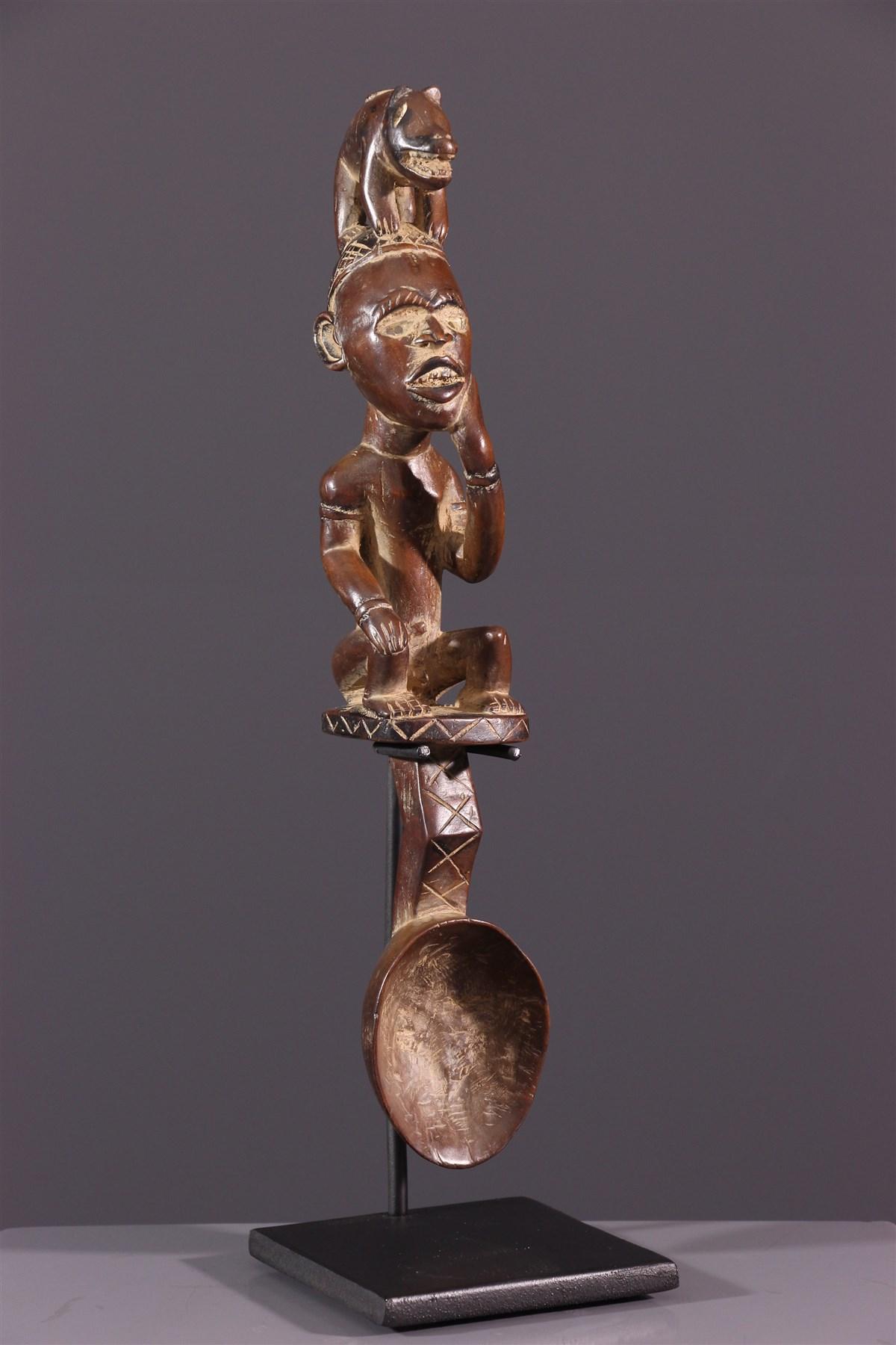 Cuillère  Kongo Yombé - art africain