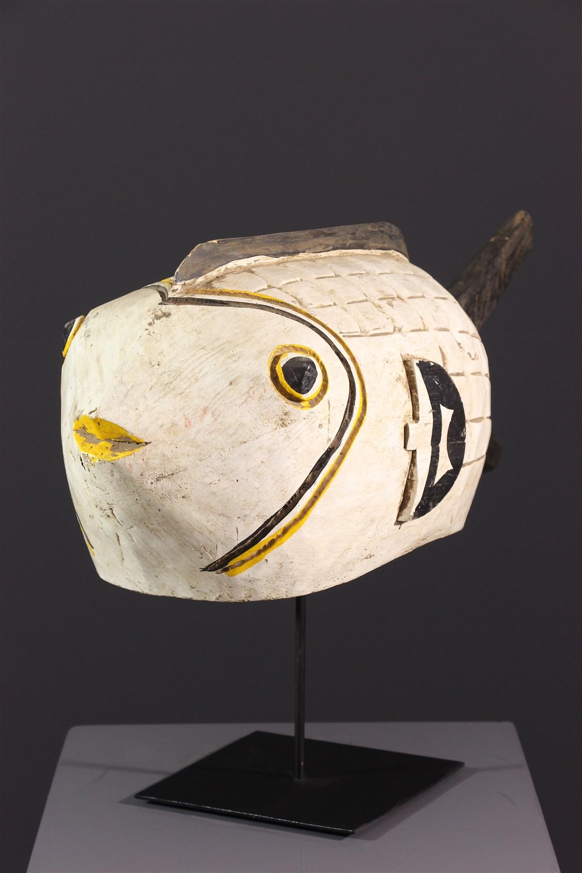 Marionnette poisson Bozo - Art africain