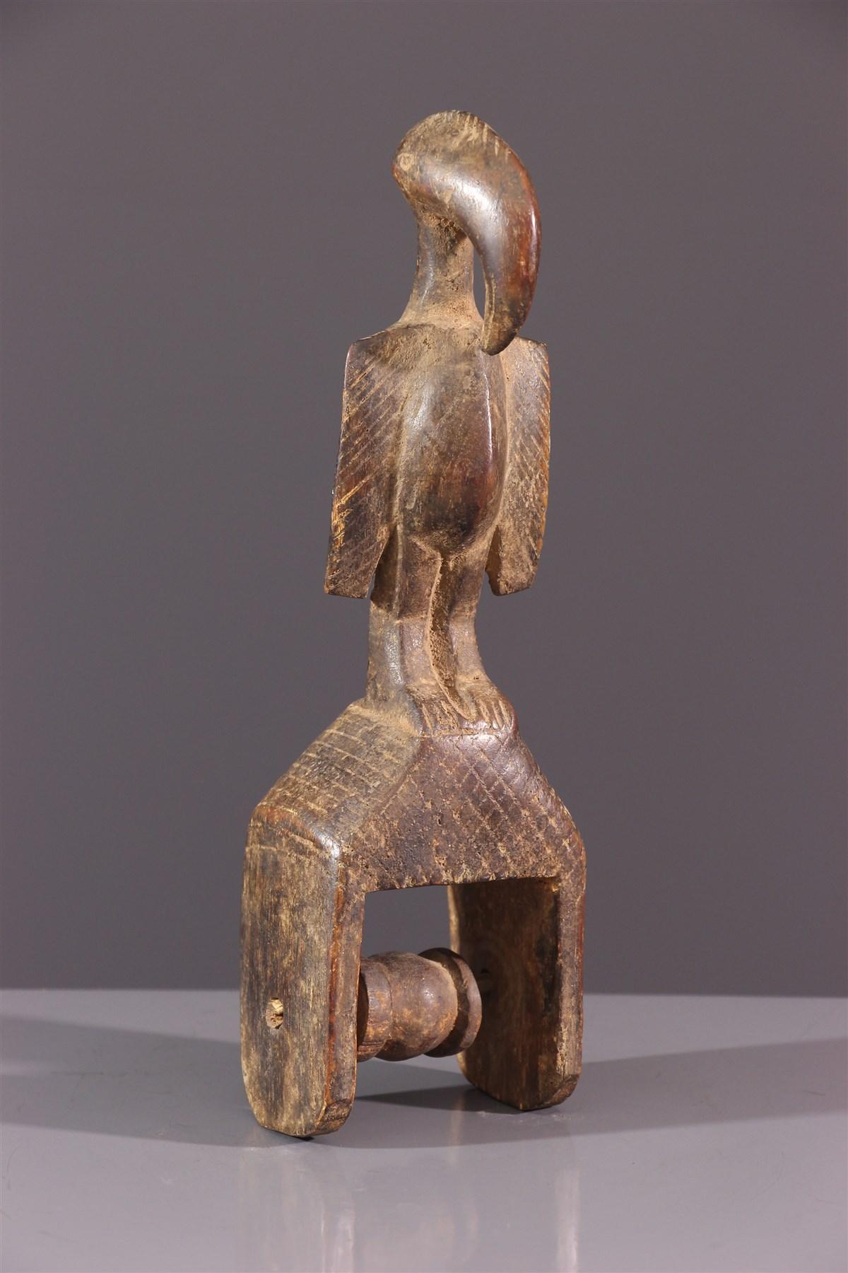 Etrier de métier à tisser Senoufo - Art africain