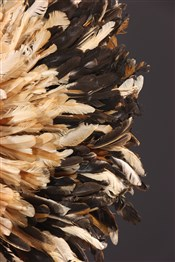 Objets usuelsCoiffe à plumes Bamileke