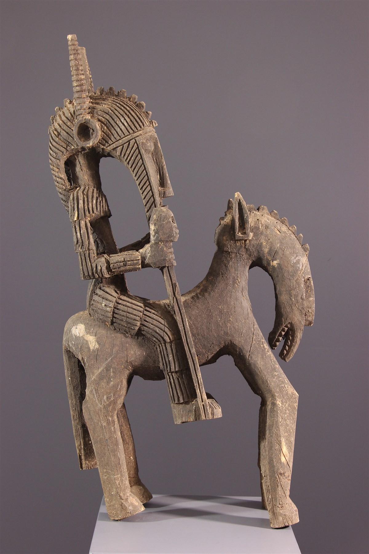 Cavalier Markha - art africain