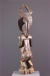 Statues africainesStatue Asye usu du Goli Baoulé