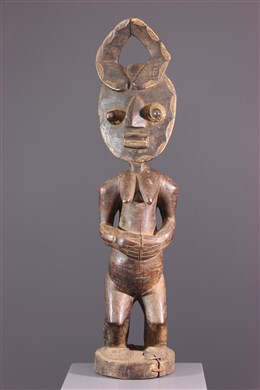 Statue Asye usu du Goli Baoulé