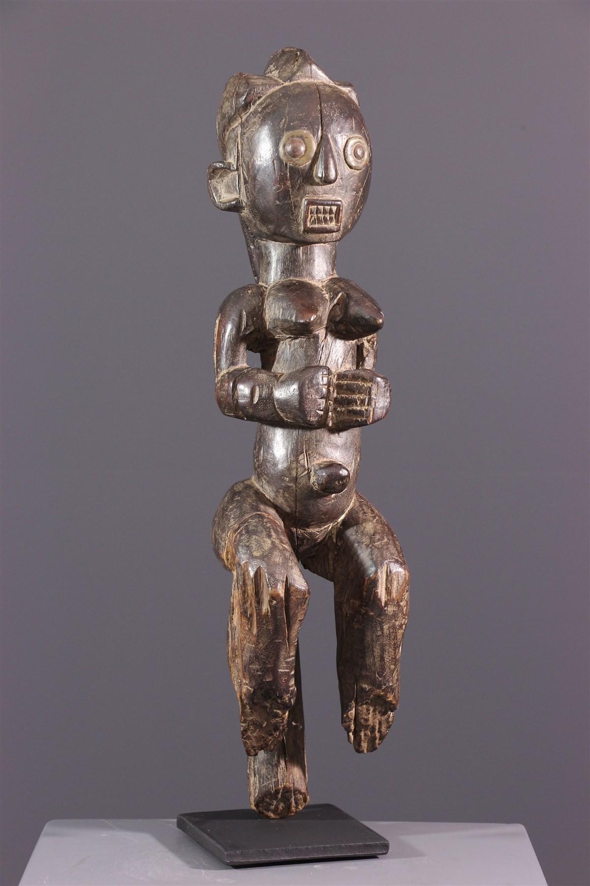 Figure de reliquaire Fang Byéri - Art africain