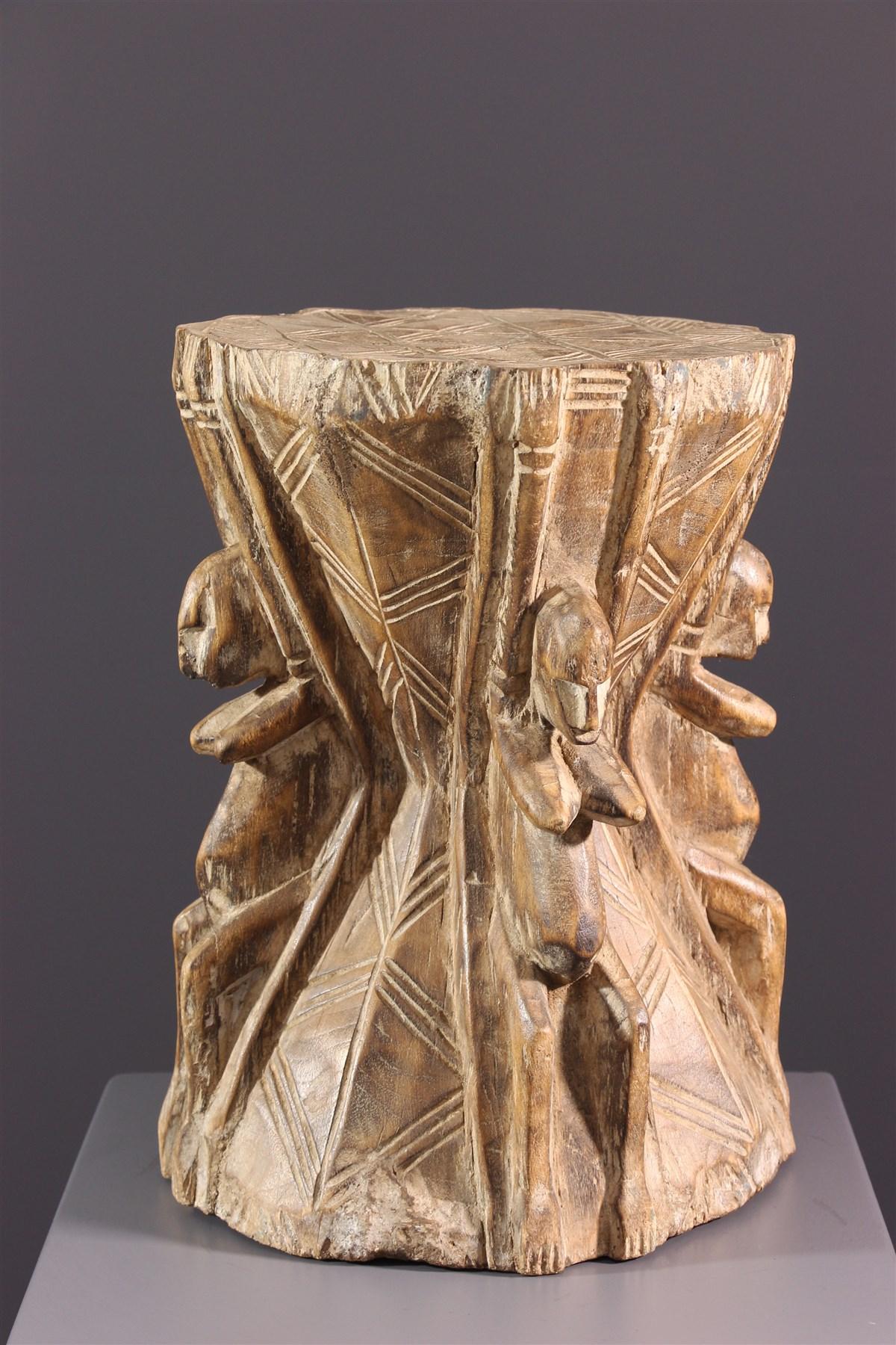Tabouret Dogon - Art africain