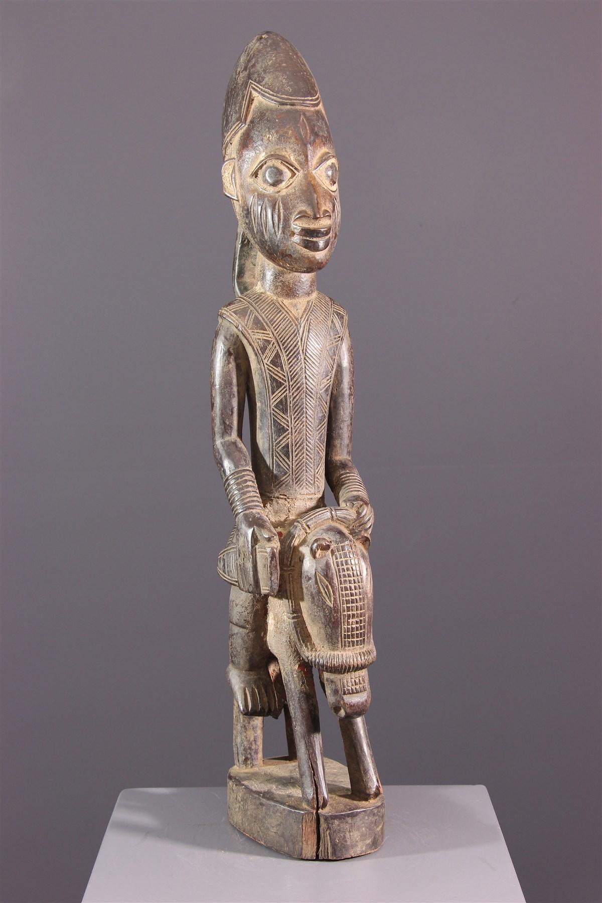 Cavalier Elesin Yoruba - Art africain