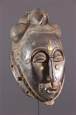 Art africain - Masque Mblo Baoule Côte dIvoire