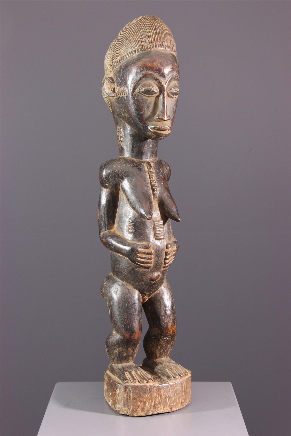 Statue Baoulé Blolo Bia - Art africain