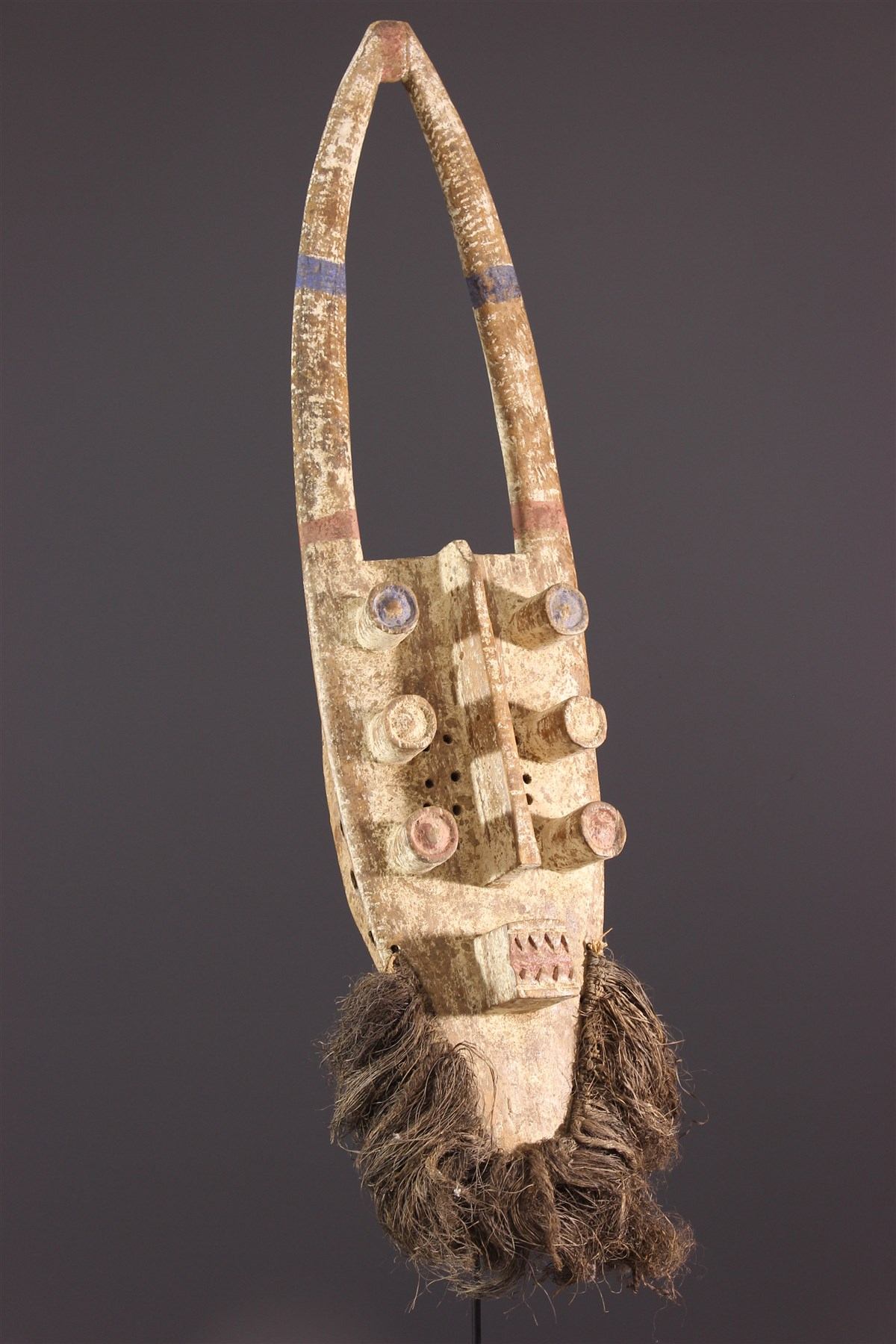 Masque facial Grébo Krou - Art africain