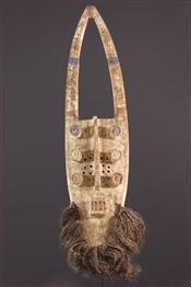 Masque africainMasque facial Grébo Krou