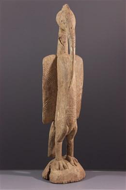 Art africain - Statue calao du Setien Senoufo