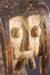 Masque africainSoufflet de forge anthropomorphe Ambete