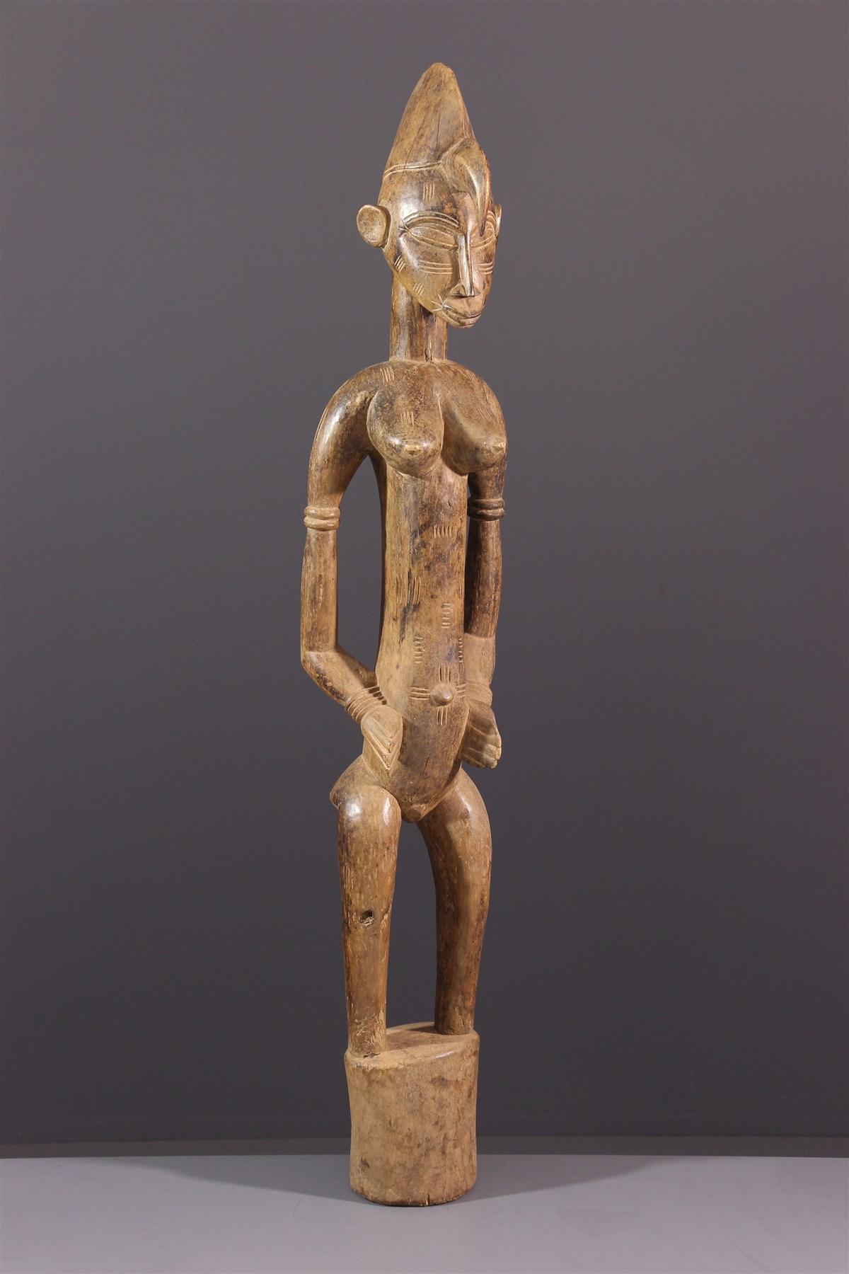 Statue Pombibele Senoufo - art africain