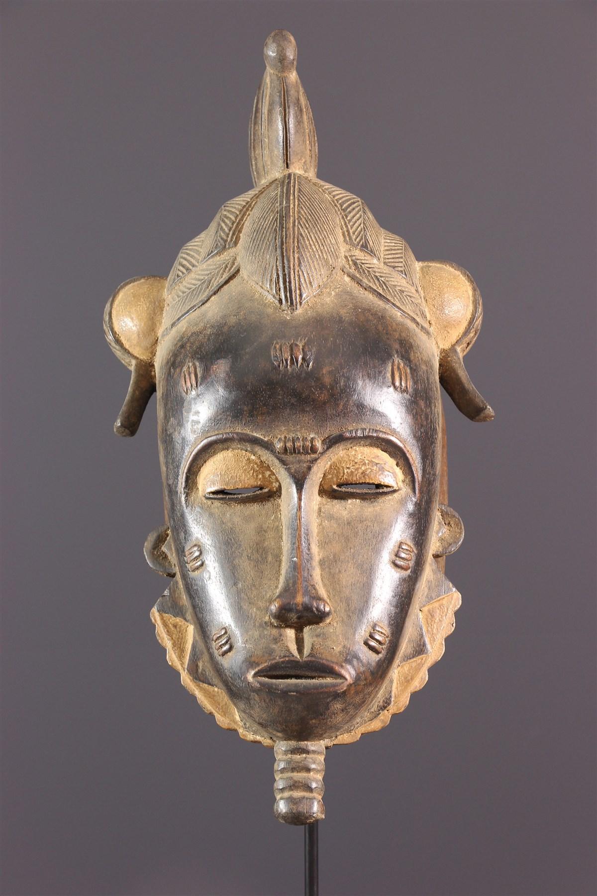 Masque Mblo Baoulé - Art africain