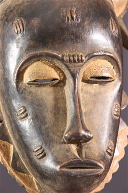 Masque Mblo Baoulé